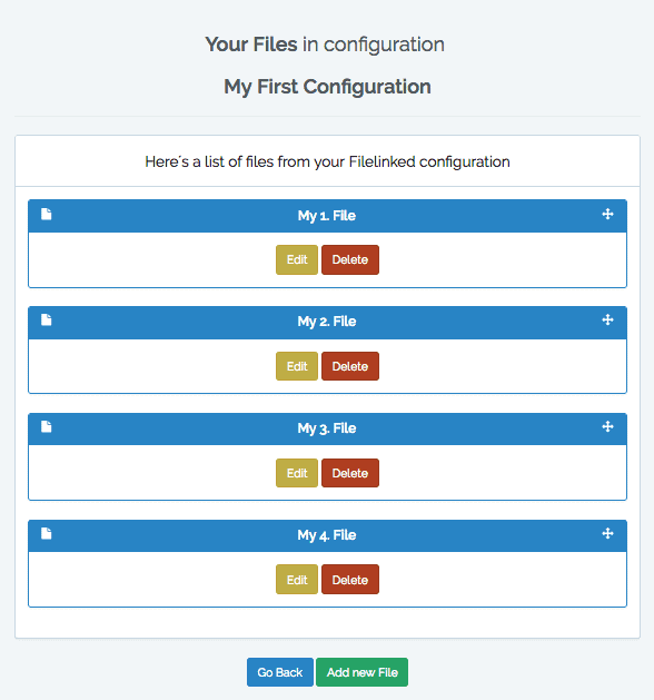 Filelinked Categories