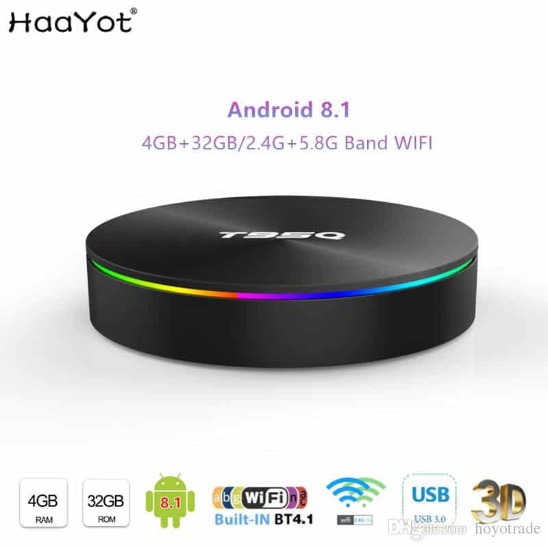 T95Q Android TV BOX 2019