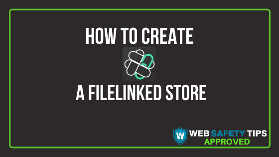 how to create a filelinked store tutorial