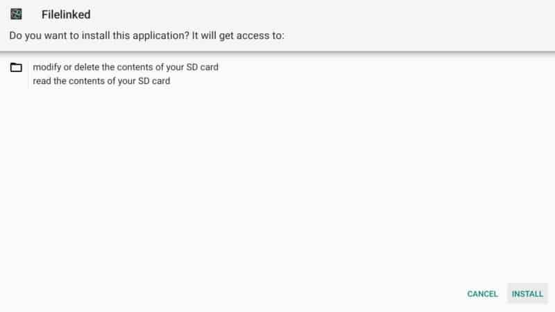 step 11 firestick lite install filelinked splash screen