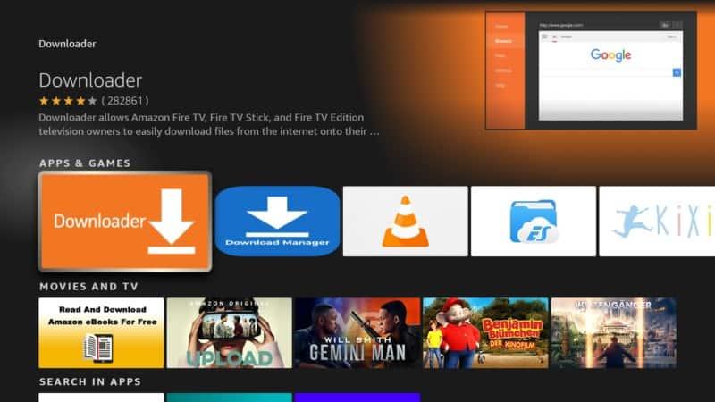 step 4 firestick lite downloader app