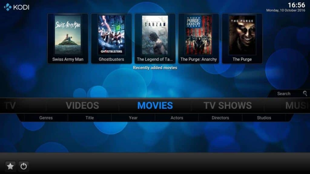movies on kodi box