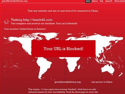 website censorship