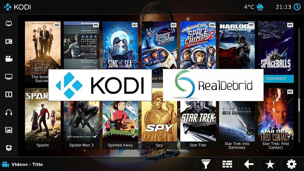Real Debrid on Kodi