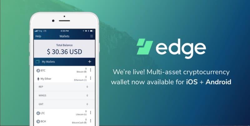 edge btc wallet