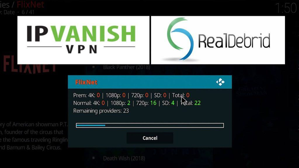 ipvanish real debrid