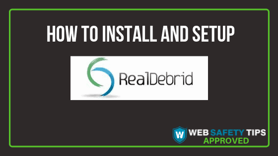 How to setup and install RealDebrid tutorial