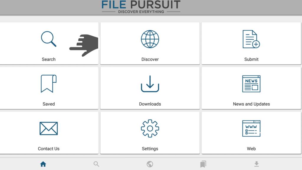 search on filepursuit