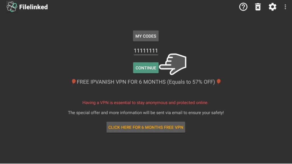 WebSafetyTips code on Filelinked
