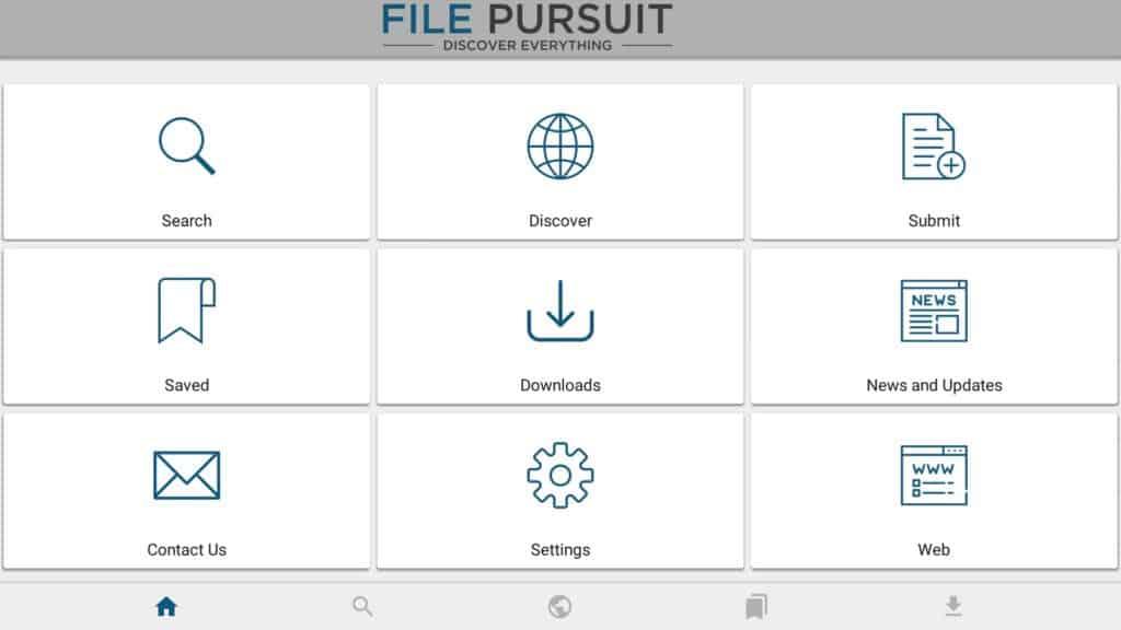 launch filepursuit
