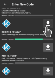 download kodi from WST store