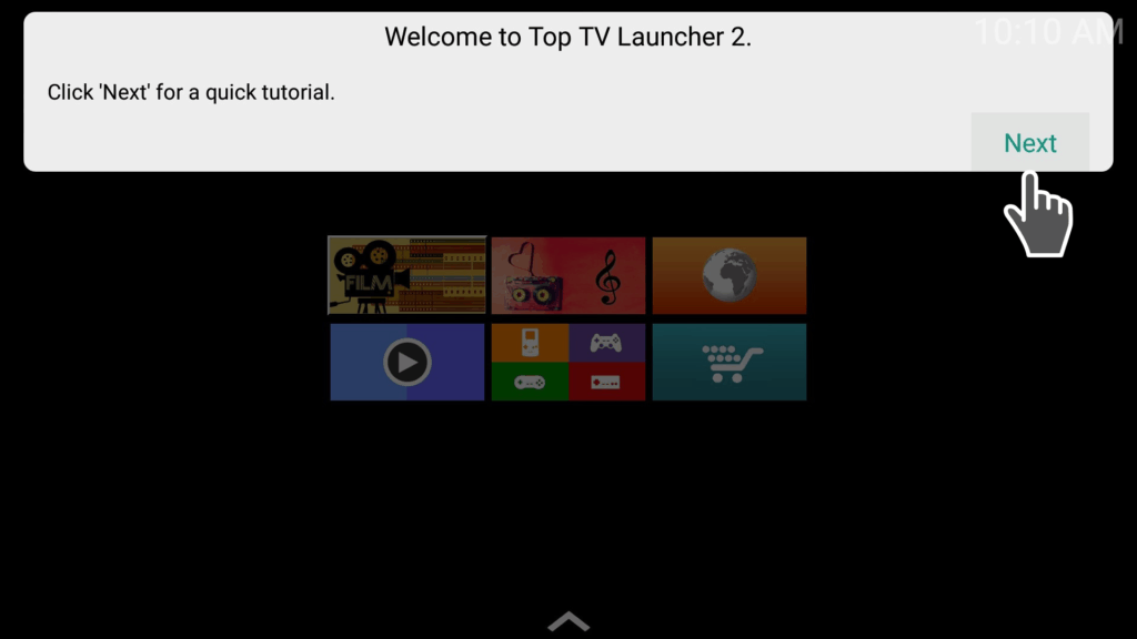 welcome top tv launcher 2 tutorial
