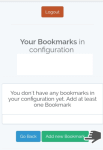 add new bookmark on filelinked