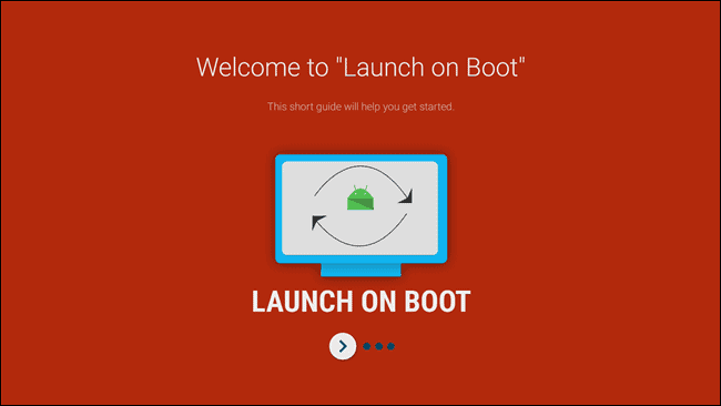 Launch on boot initial tutorial