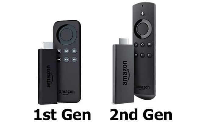 fire tv stick generations
