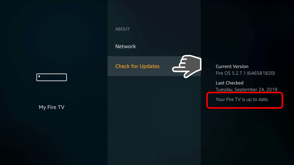Firestick is updated