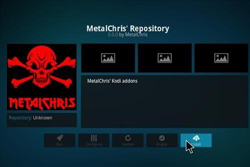 MetalChris repository