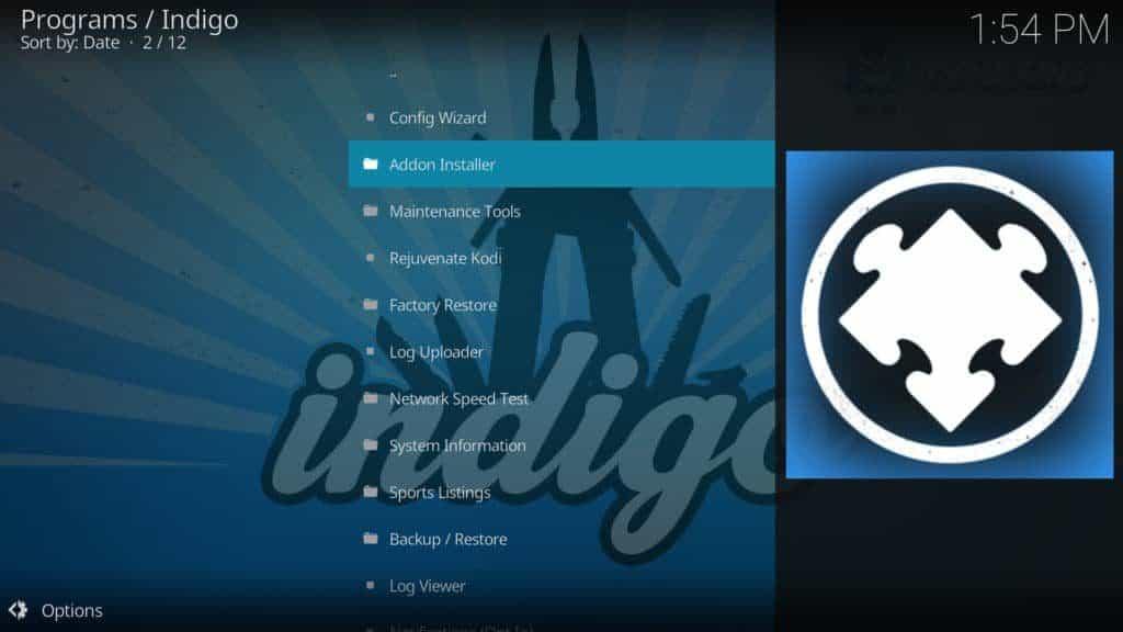 click addon installer