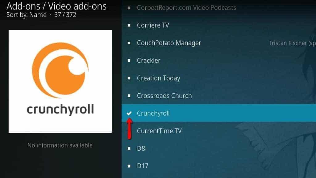crunchyroll checkmark