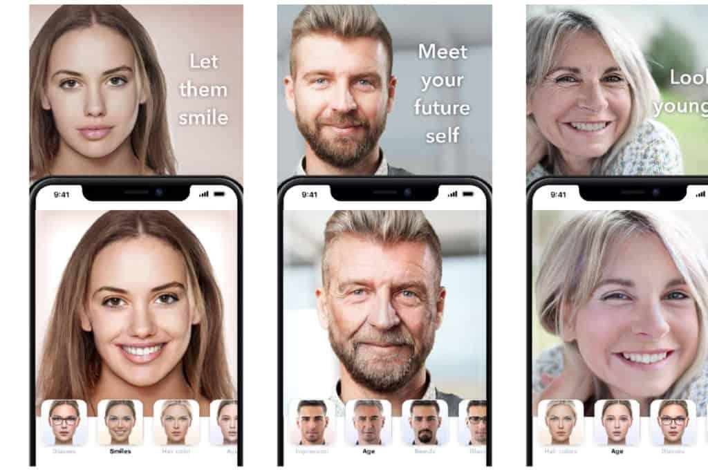faceapp photos