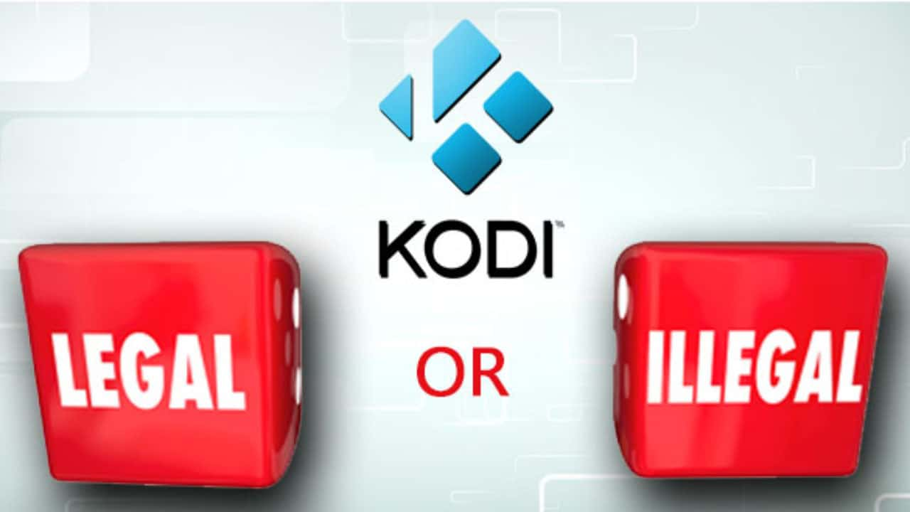 is kodi legal or illegal