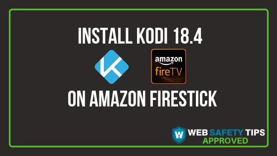 install Kodi 18.4 tutorial