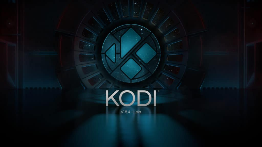 Launch Kodi 18.4 Leia