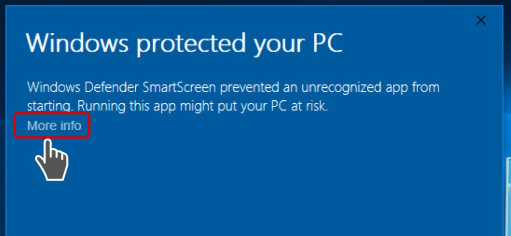 windows defender smart screen
