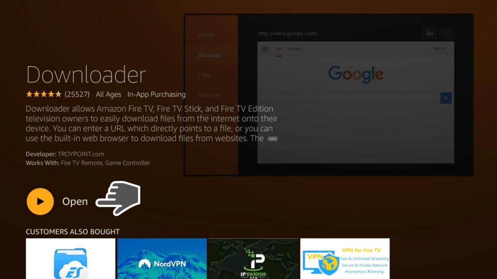Open Downloader App