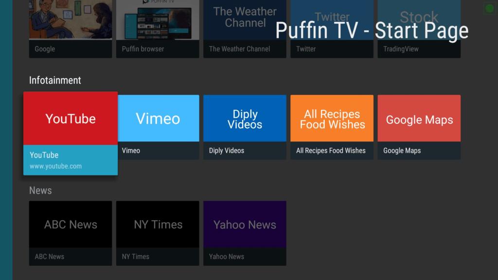 VPNSafetyDot on Puffin TV App