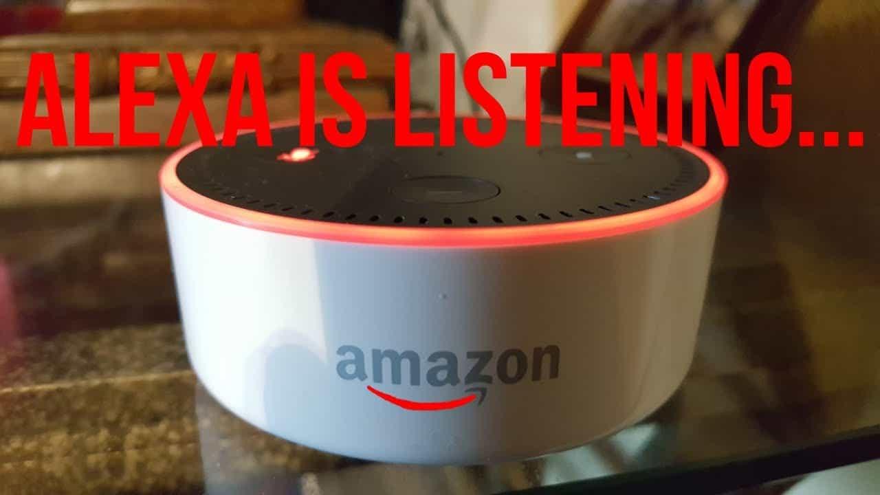 alexa is listening
