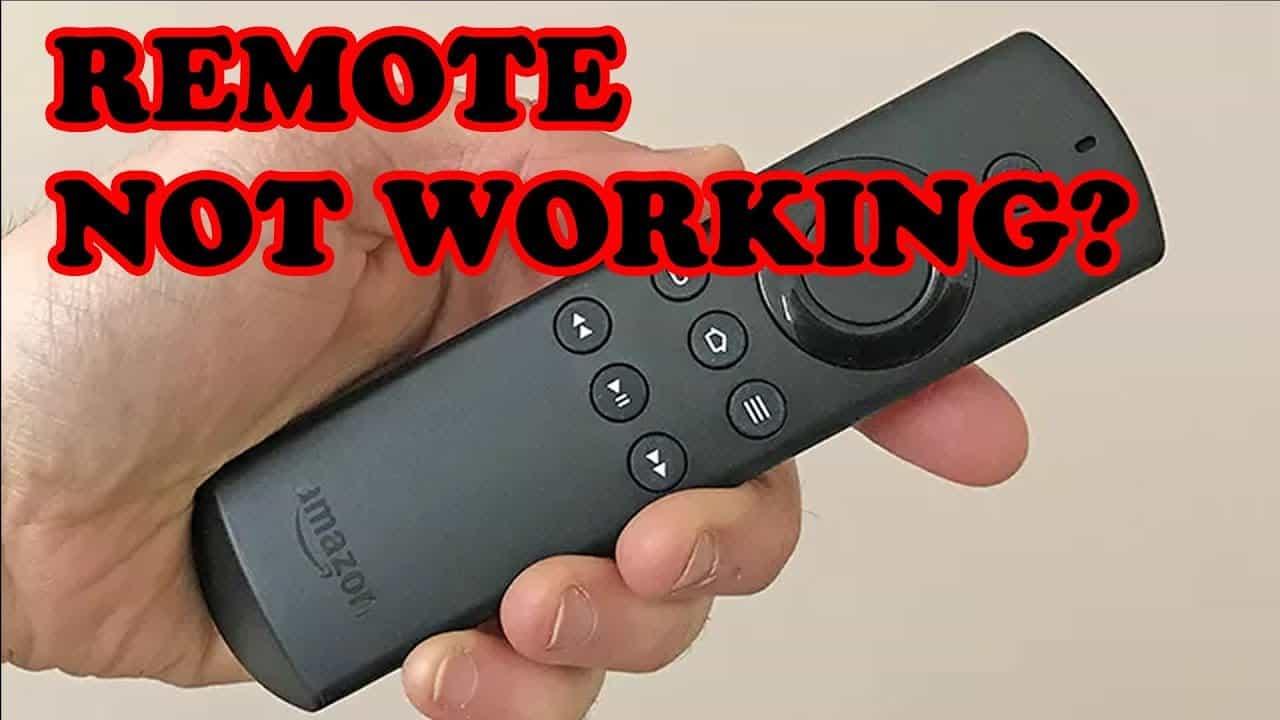 Firestick remote not working