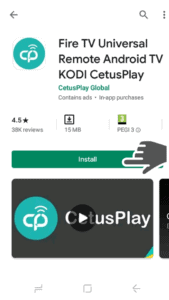 Install CetusPlay