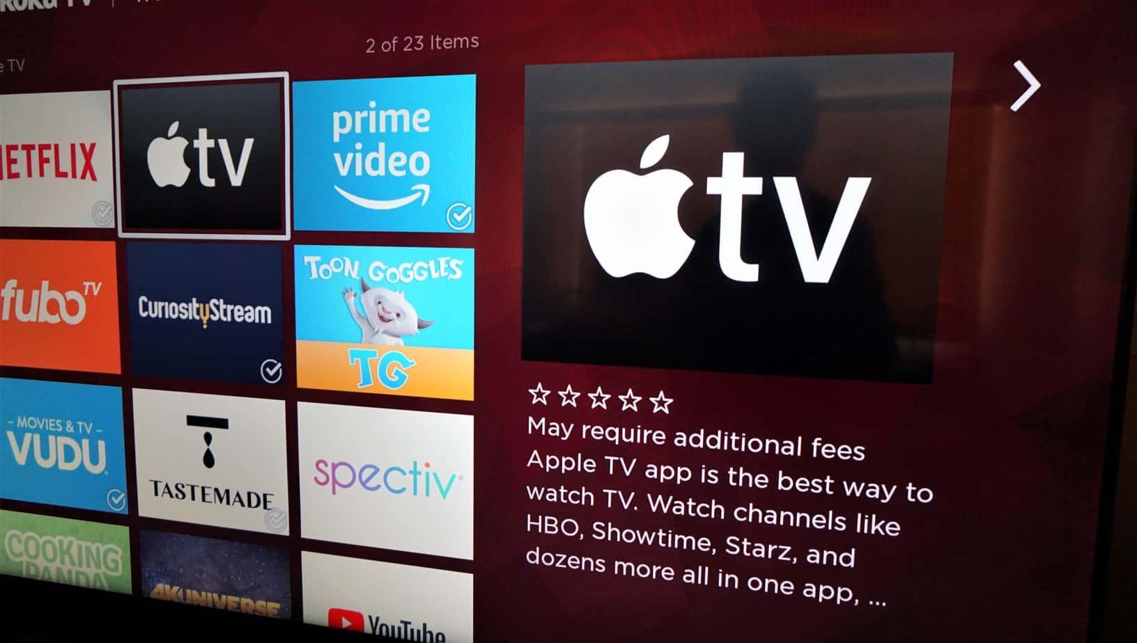 Apple TV App for Firestick