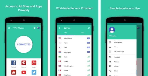 android vpns