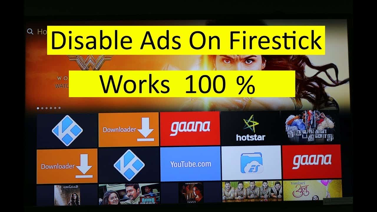 block ads on Fire TV Stick