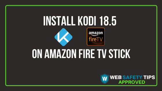 install kodi 18.5 on Firestick tutorial