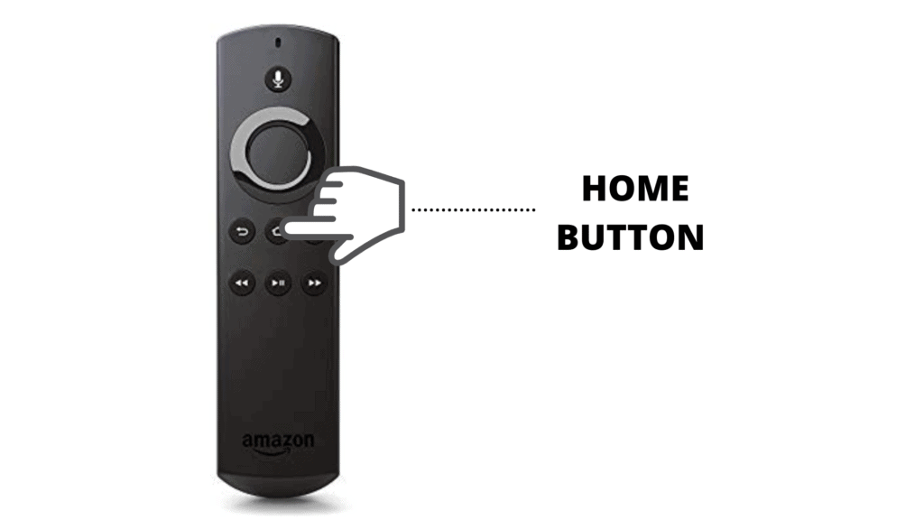 Remote Home button