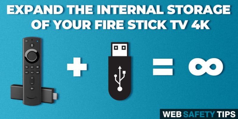 How to Expand Fire TV Stick 4K Internal Storage by Using a USB Flash Drive