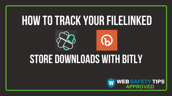 How to Track your Filelinked Store Downloads with Bitly tutorial
