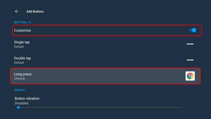 customize button mapper