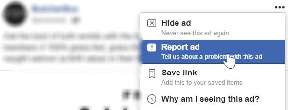 facebook ad report