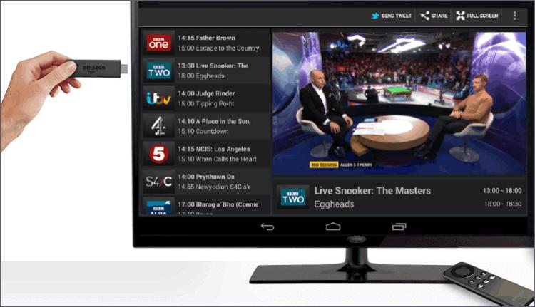 live channels on firestick