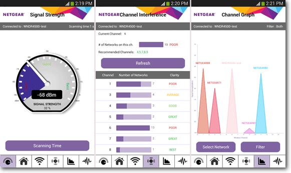 NETGEAR Wi-Fi Analytics App