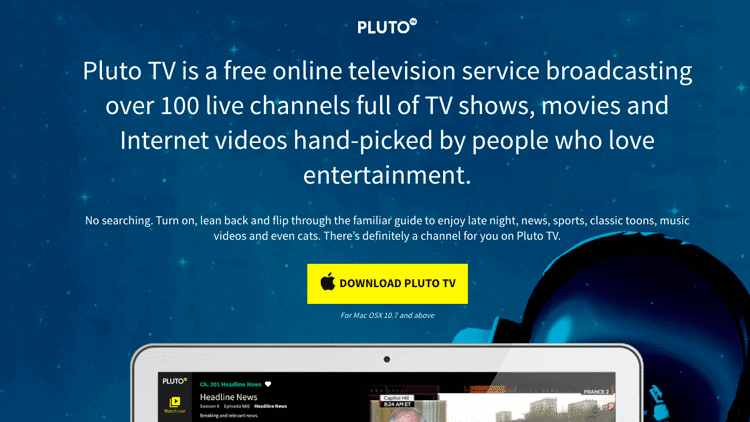 download pluto tv