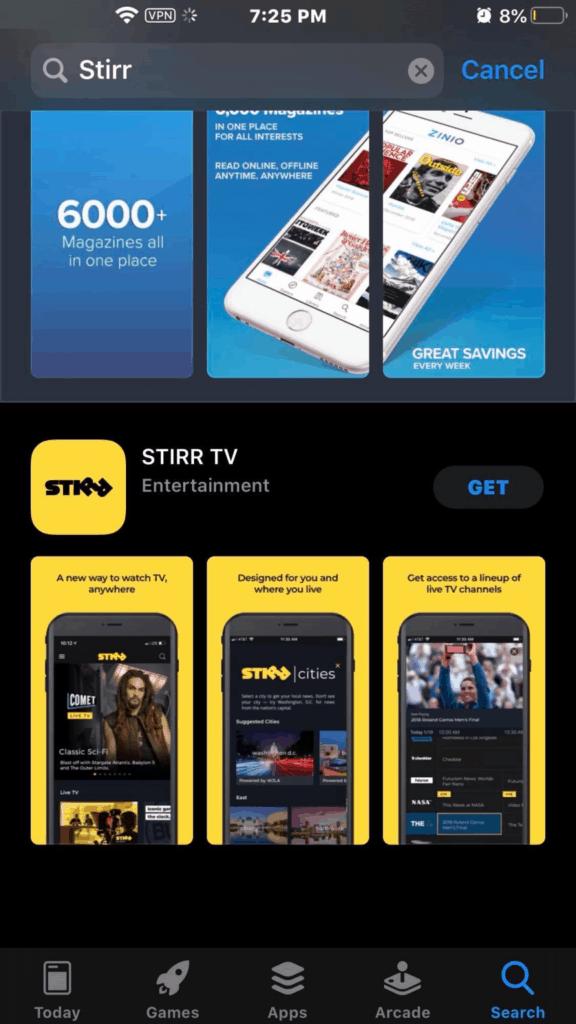 app store stirr