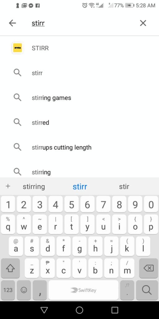 search for stirr