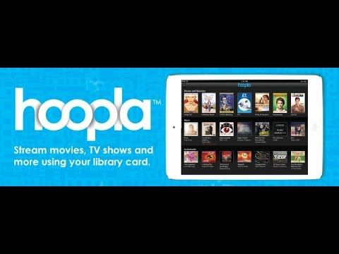 Hoopla​ streaming service