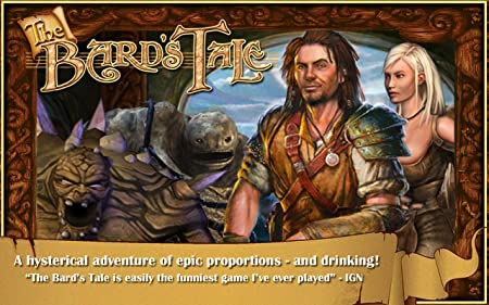 favourite games on Fires tv Stick The Bard's Tale