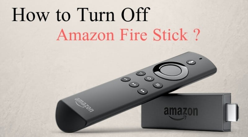 how to turn off Firestick